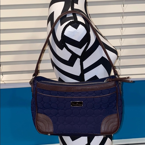 3 for $30 Brown & Navy Vera Bradley Shoulder Bag